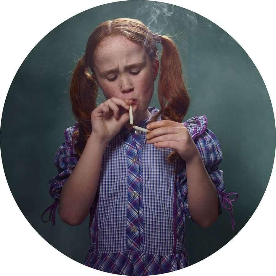 Bambini che fumano