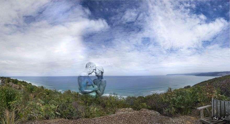 Body Painting unisce uomo e terra