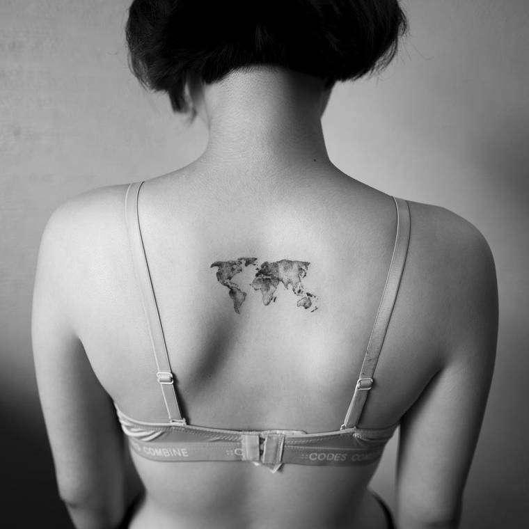 tatuaggi minimali Hongdam