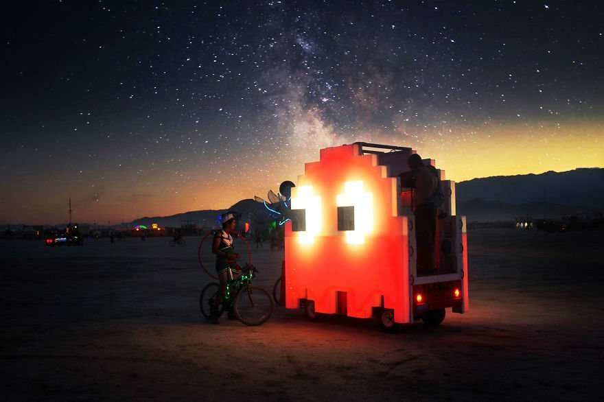 foto spettacolari burning man
