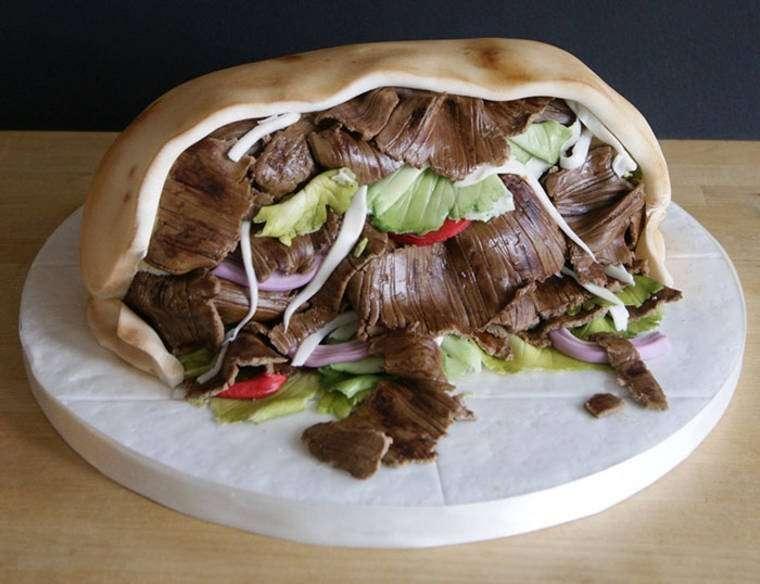 torte cake design cibo spazzatura