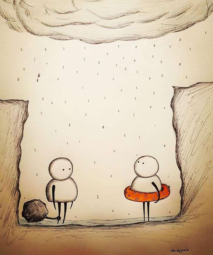 illustrazioni amore spietato