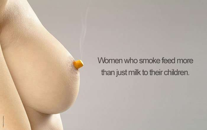 campagne contro il fumo creative