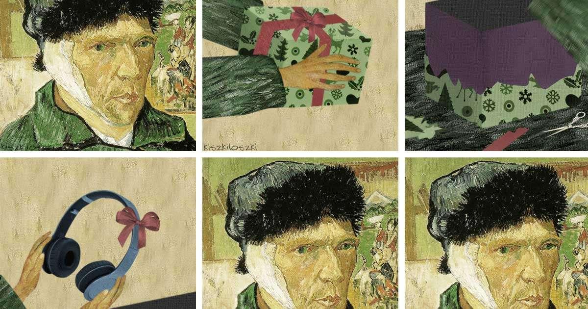 gif animate dipinti classici umoristiche