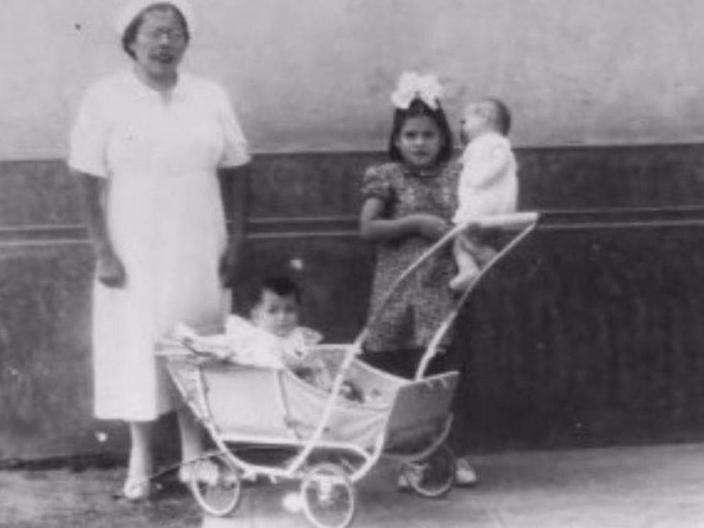 lina medina mamma a 5 anni