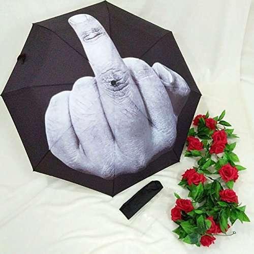 ombrello dito medio