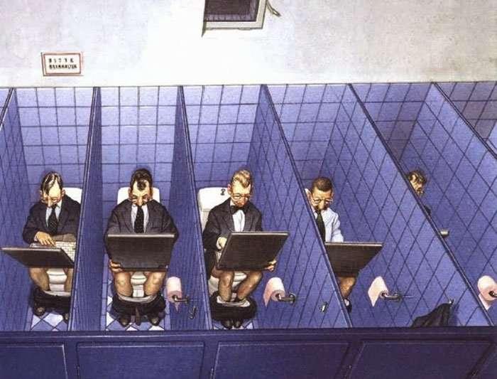 Gerhard Haderer e le illustrazioni, brutali e oneste, sul lato malato della società