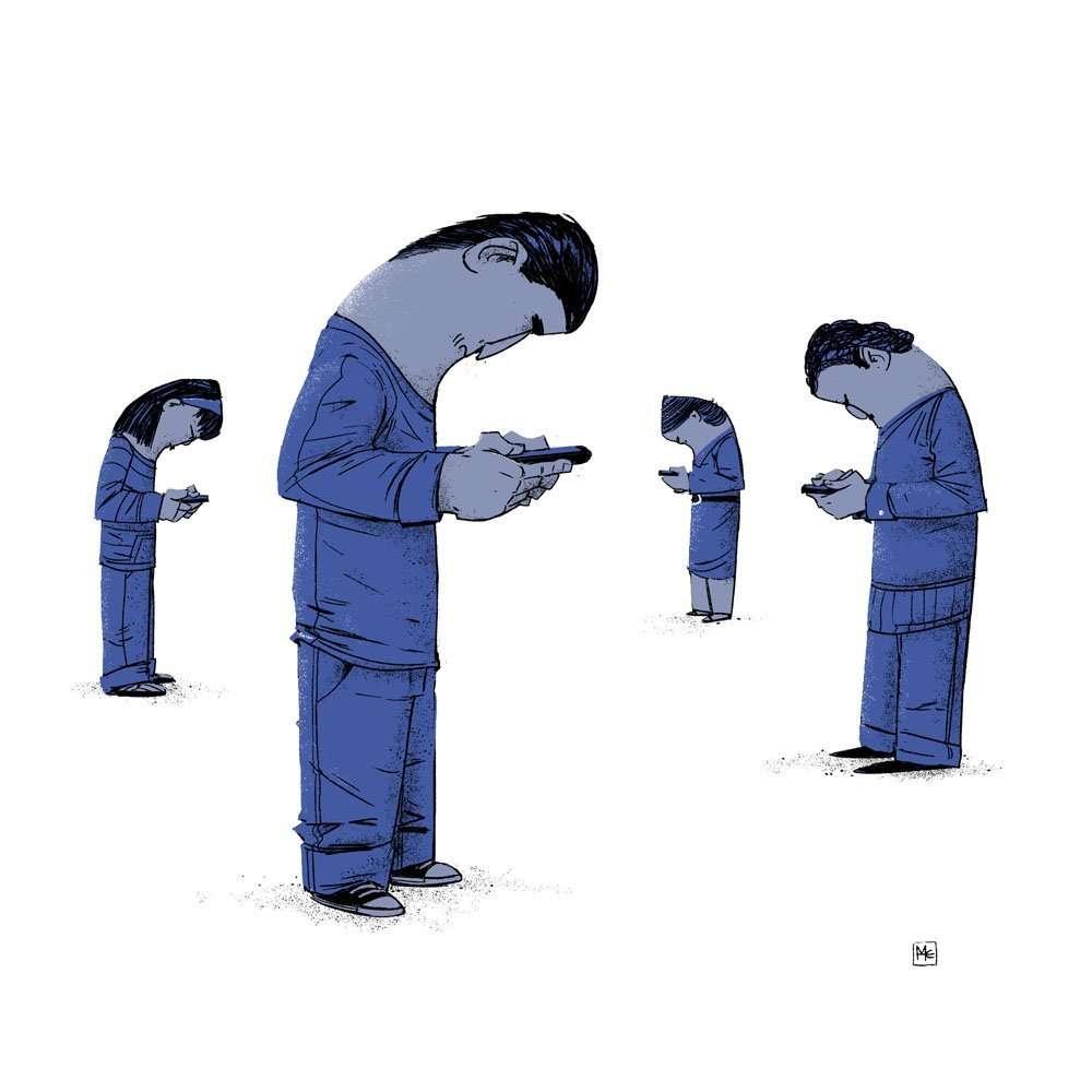16 illustrazioni senza pietà - 15886358434 b706c1d365 o - 16 illustrazioni senza pietà che rappresentano la società in cui viviamo