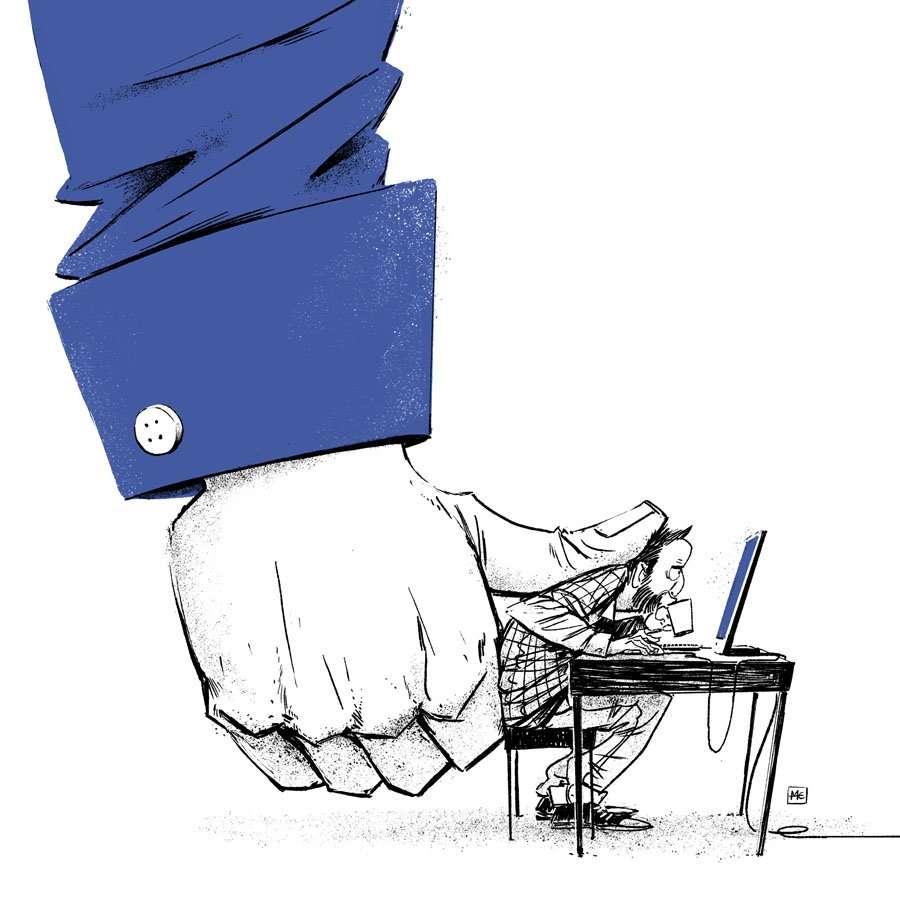 Dziekan e le sue illustrazioni fastidiose perché mostrano verità scomode