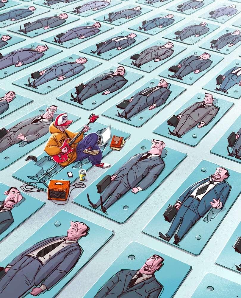 16 illustrazioni senza pietà - 26070498444 6c6c9f1c5d o - 16 illustrazioni senza pietà che rappresentano la società in cui viviamo