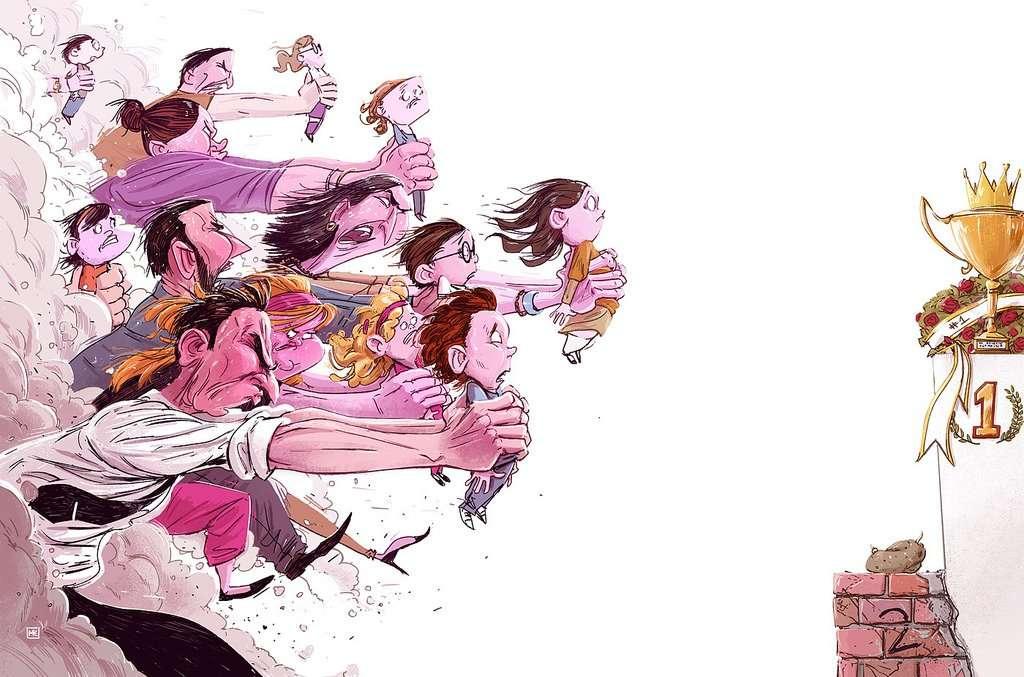 16 illustrazioni senza pietà - 26610738201 b6a6ecd0d9 b - 16 illustrazioni senza pietà che rappresentano la società in cui viviamo