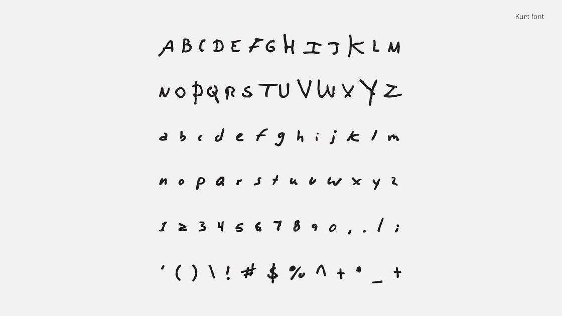 songwriters font - songwriters fonts 15 - Songwriters Font: scrivere con la grafia di Kurt Cobain, David Bowie, John Lennon ecc…
