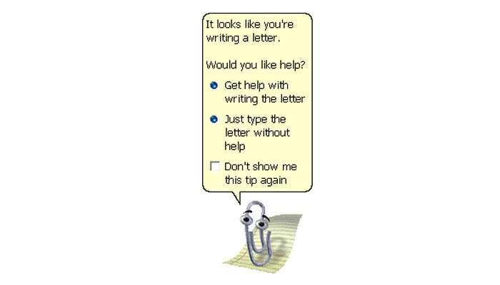assistente clippy word