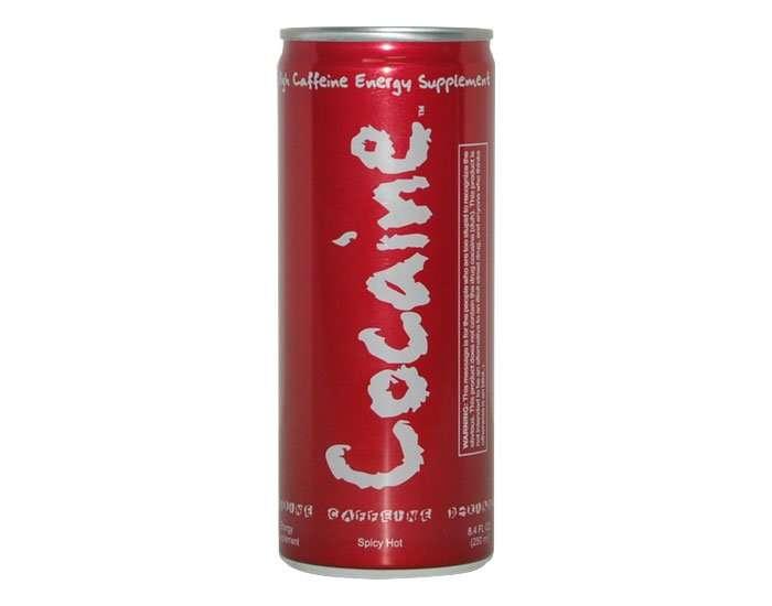 Bevanda energetica Cocaina