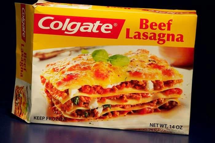 lasagne della colgate