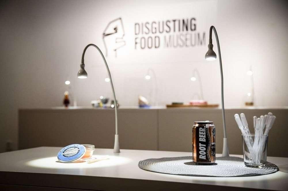 Il museo del cibo disgustoso
