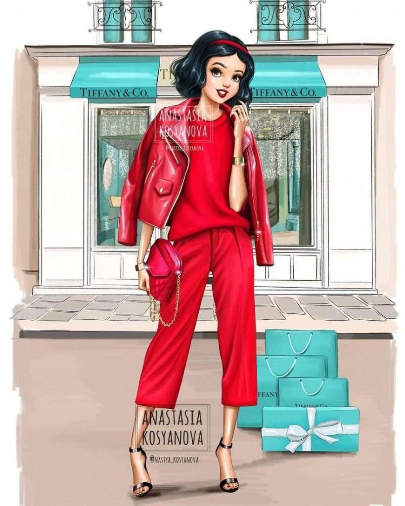 Quali marchi di moda sceglierebbero le principesse Disney? Ecco la risposta di Anastasia