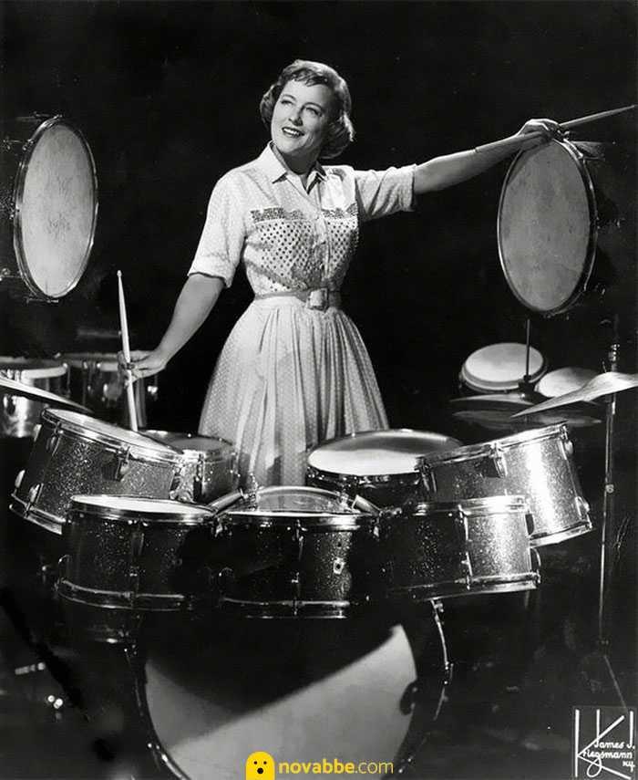 Viola, la batterista con la carriera più lunga al mondo. 106 anni e non sentirli