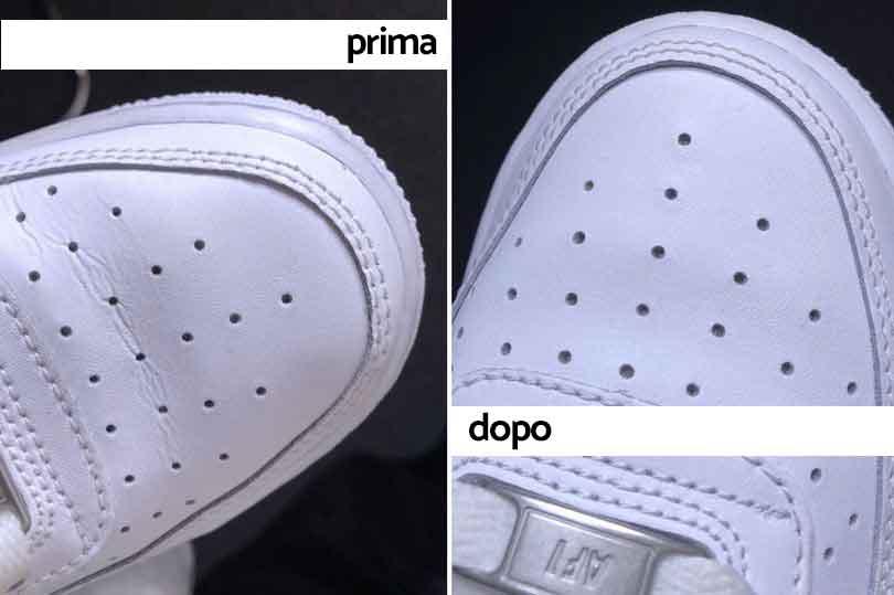 Ecco come togliere le grinze dalle scarpe e farle tornare
