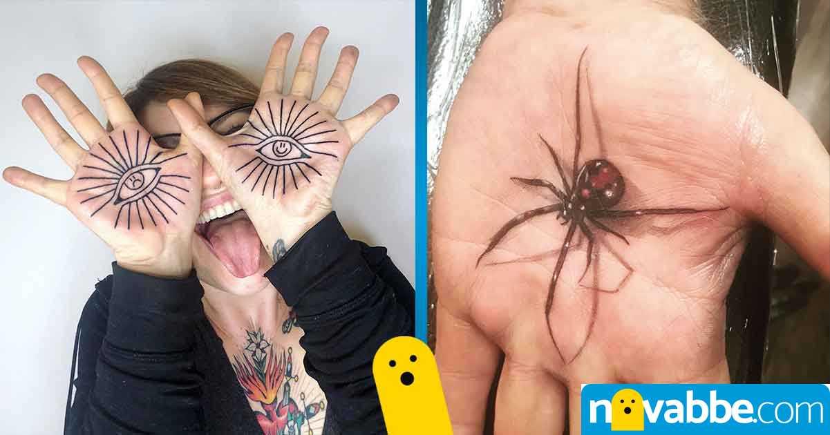 tatuaggi palmo mano