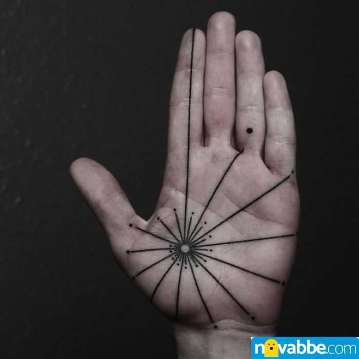 tatuaggi palmi mani