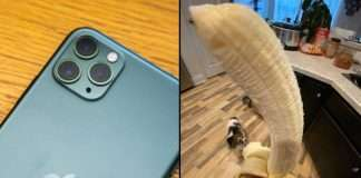 banana iphone 11