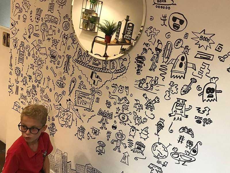 Joe Whale doodle