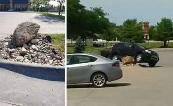roccia parcheggi