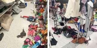 caos negozi a natale