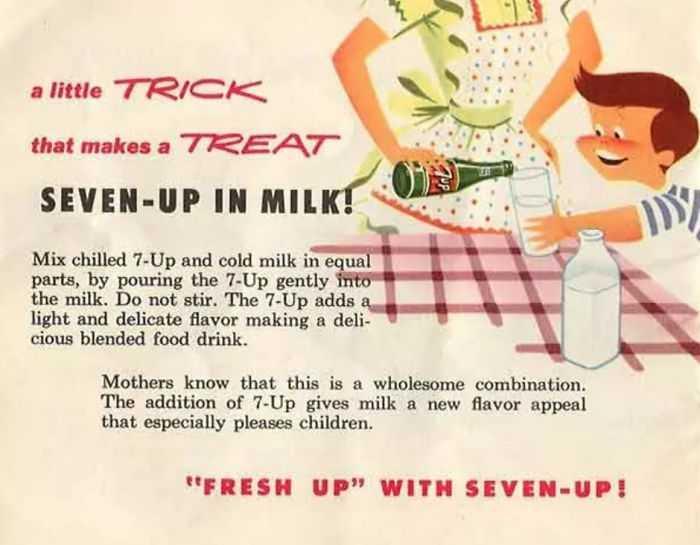 Latte con gassosa, budini di bistecca, banane con prosciutto. Ricette vintage da riscoprire