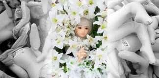 funerale bambola gonfiabile