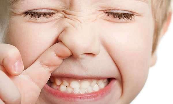 caccole naso