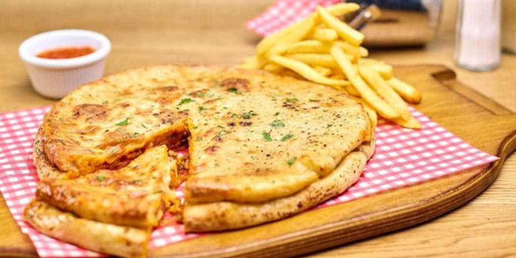 pizza con lasagna copertina