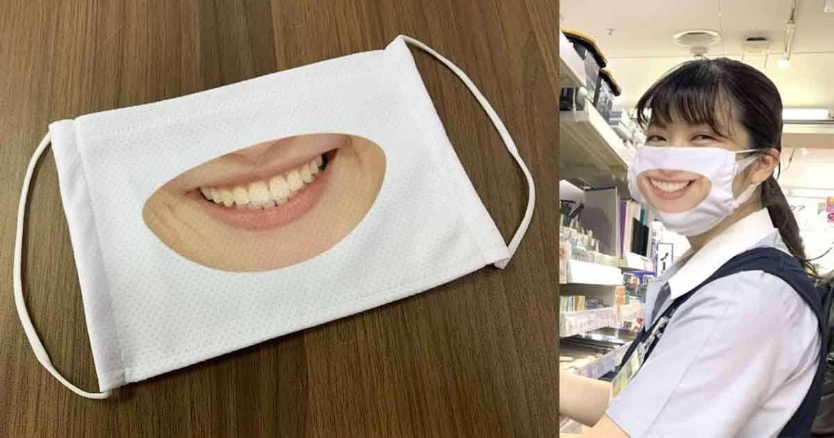 mascherina sorriso