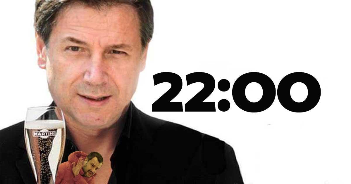 dormire alle 22