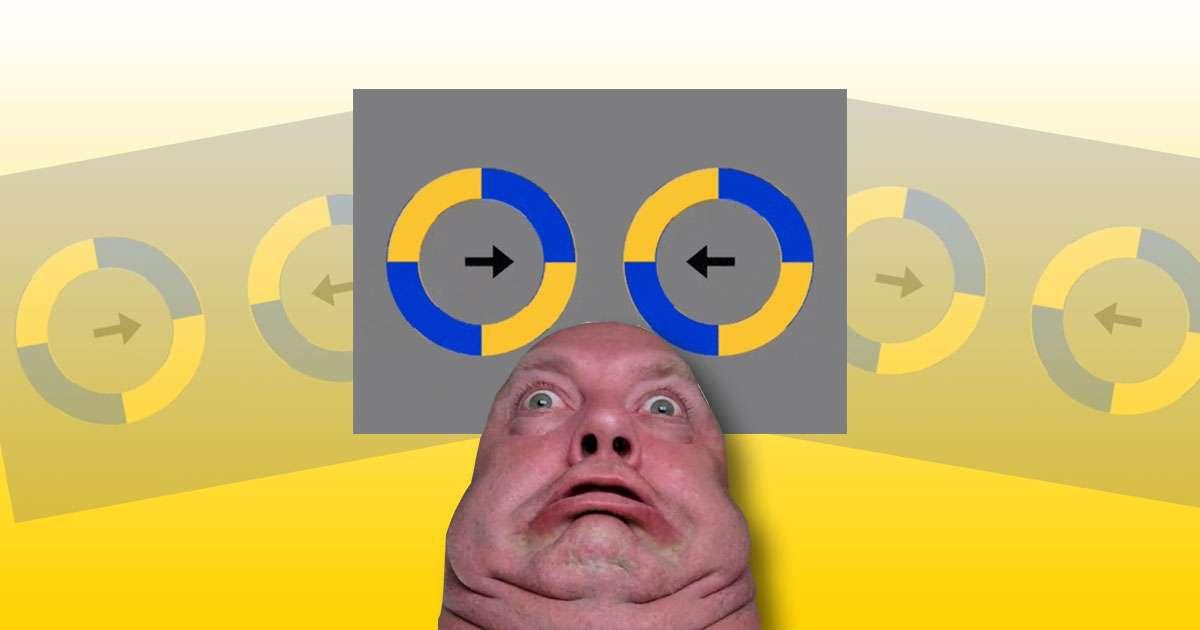 illusione ottica cerchi