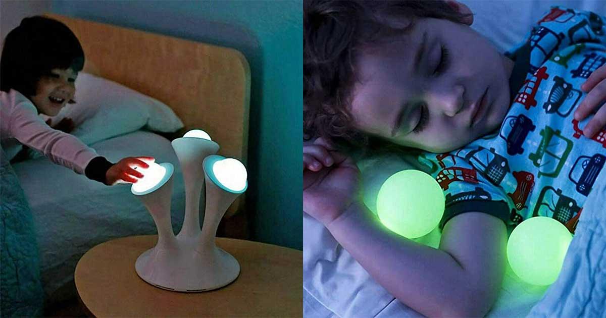 lampada con palle removibili
