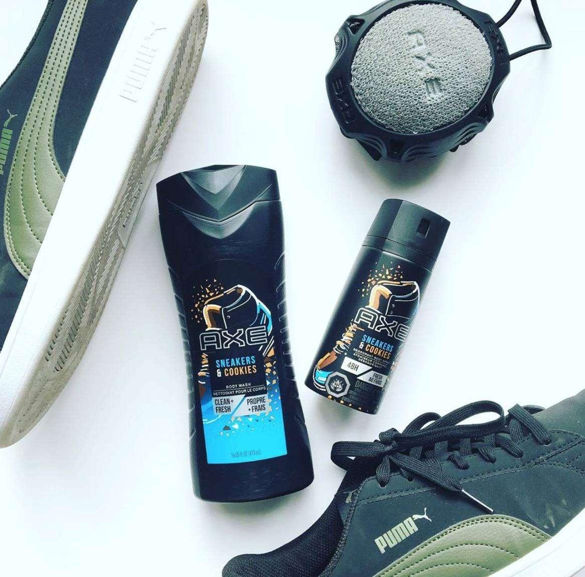 deodorante scarpe e biscotti