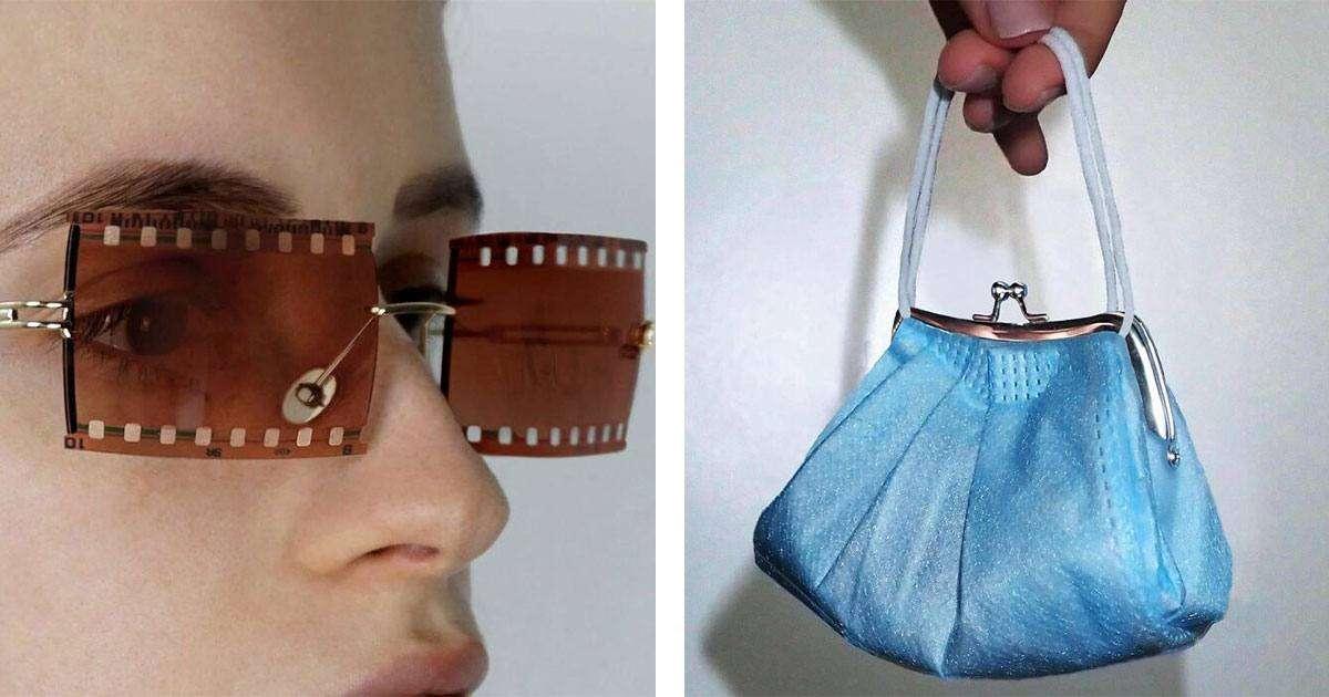accessori moda creati con oggetti casuali