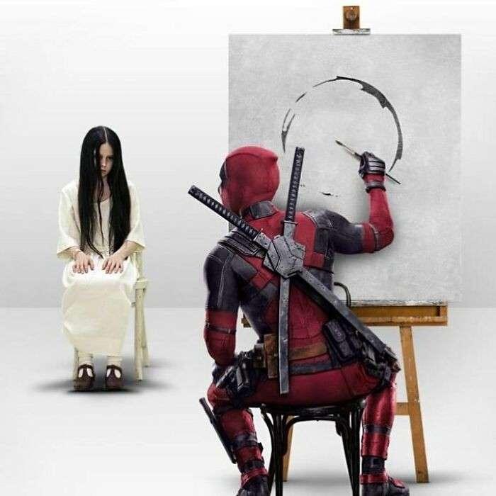 Film celebri combinati creano scene assurde. Ecco le opere di Pixel Faker