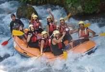 rafting a papasidero